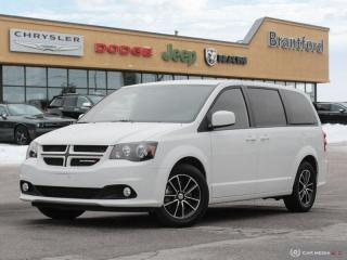 Used 2018 Dodge Grand Caravan GT  - Bluetooth -  Leather Seats - $171.68 B/W for sale in Brantford, ON