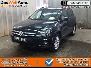 Used 2014 Volkswagen Tiguan Comfortline AWD Toit Similicuir **Clean* for sale in Rivière-Du-Loup, QC