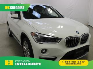 Used 2018 BMW X1 XDRIVE28I XDRIVE CUIR TOIT for sale in St-Léonard, QC