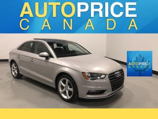 Used 2015 Audi A3 1.8T Komfort PANOROOF|LEATHER for sale in Mississauga, ON
