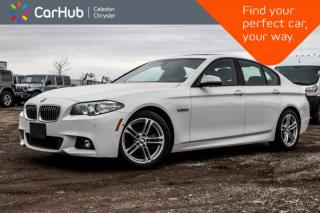 Used 2014 BMW 5 Series 528i xDrive|Navi|Sunroof|Backup Cam|Bluetooth|Leather|Heated Front Seats|18