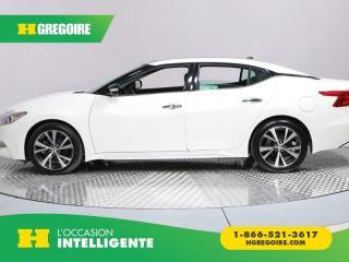 Used 2017 Nissan Maxima SL CUIR TOIT NAV for sale in St-Léonard, QC
