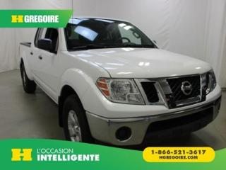 Used 2012 Nissan Frontier SV CREW-CAB 4X4 for sale in St-Léonard, QC