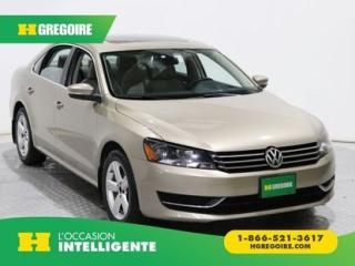 Used 2015 Volkswagen Passat COMFORTLINE GR for sale in St-Léonard, QC