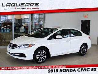 Used 2015 Honda Civic EX for sale in Victoriaville, QC