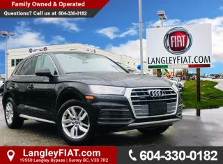 Used 2018 Audi Q5 2.0T Komfort Navigation, Heated Seats, Back-up Camera, No Accidents! for sale in Surrey, BC