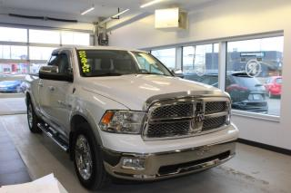 Used 2012 RAM 1500 LARAMIE CABINE QUAD 4RM CUIR CAMÉRA GPS for sale in Lévis, QC