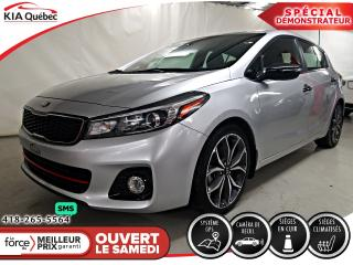 Used 2018 Kia Forte SX* TURBO* 5 PORTES* CUIR* GPS* TOIT* for sale in Québec, QC