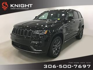 New 2019 Jeep Grand Cherokee High Altitude | Sunroof | Navigation for sale in Regina, SK