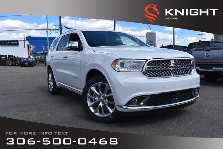 Knight Dodge Swift Current >> Used 2019 Dodge Durango Citadel Awd V6 Sunroof