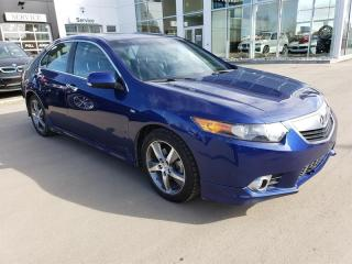Used 2013 Acura TSX A-Spec 6sp Heated Seats, Sunroof, Bluetooth, Leatherette for sale in Regina, SK