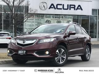 Used 2017 Acura RDX Elite at AWD, Vented Seats, Roof Rails for sale in Markham, ON