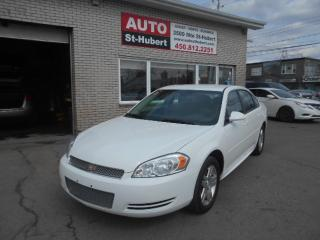 Used 2012 Chevrolet Impala LT for sale in St-Hubert, QC