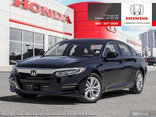New 2019 Honda Accord LX 1.5T LX for sale in Cambridge, ON