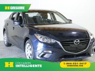 Used 2016 Mazda MAZDA3 G VITRE ET PORTE for sale in St-Léonard, QC