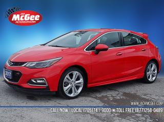 Used 2017 Chevrolet Cruze Premier Auto 1.4L Turbo, RS Pkg, Htd Ltr Bkts, Htd Wheel, 18