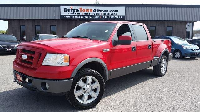2006 Ford F-150 FX4 CREW CAB 4X4 **FLARE SIDE**