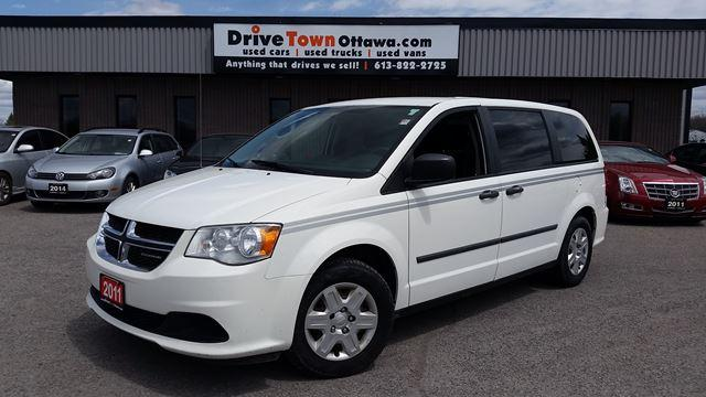 2011 Dodge Grand Caravan C/V CARGO VAN  **90 Days no Payments**
