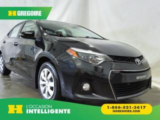 Used 2015 Toyota Corolla S for sale in St-Léonard, QC