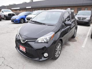 Used 2015 Toyota Yaris SE /ALLOY WHEELS/REMOTE START/ONLY 54,000 KMS !!! for sale in Concord, ON