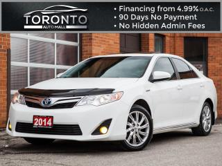 Used 2014 Toyota Camry HYBRID XLE Hybrid Navi Camera Leather Sunroof Blind spot for sale in North York, ON