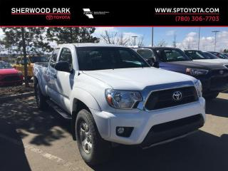 Used 2013 Toyota Tacoma 4WD ACCESS CAB V6 for sale in Sherwood Park, AB