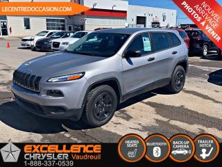 Used 2016 Jeep Cherokee SPORT 4X4 *GROUPE CHAUFFANT* for sale in Vaudreuil-Dorion, QC