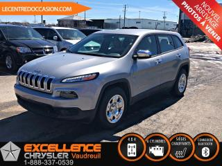 Used 2016 Jeep Cherokee SPORT PLUS 4X4 *GROUPE CHAUFFANT/HITCH* for sale in Vaudreuil-Dorion, QC