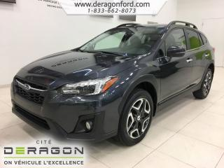 Used 2018 Subaru XV Crosstrek Ltd Nav Camera Cuir for sale in Cowansville, QC