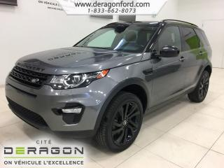 Used 2016 Land Rover Discovery Sport Hse Luxury Sport for sale in Cowansville, QC