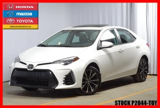 Used 2017 Toyota Corolla Se / T.ouvrant / Cam for sale in Drummondville, QC