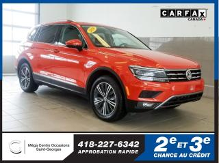 Used 2018 Volkswagen Tiguan Highline / Awd for sale in St-Georges, QC