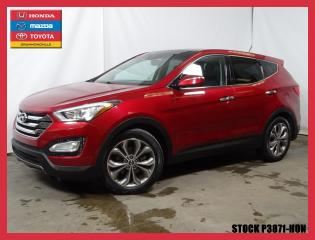 Used 2013 Hyundai Santa Fe Sport 2.0t Ltd+cuir+mags+t for sale in Drummondville, QC