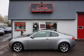 Used 2006 Infiniti G35 Coupe Sport V-6 3.5l for sale in Lévis, QC