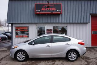 Used 2014 Kia Forte 1.8L LX+ AUTOMATIQUE FULL MAGS BLUETOOTH 65 168 for sale in Lévis, QC