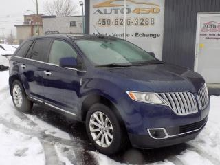 Used 2011 Lincoln MKX ***NAVIGATION,CUIR TOIT PANO,4X4*** for sale in Longueuil, QC