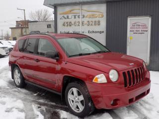 Used 2007 Jeep Compass ***AUTOMATIQUE,AIR CLIM,GROUPES ELECTRIQ for sale in Longueuil, QC