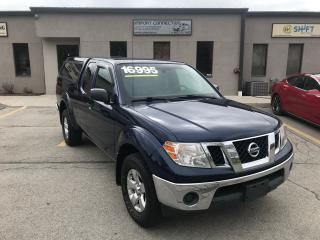 Used 2011 Nissan Frontier 4X4 King Cab Auto SV, CARGO BOX, MINT CONDITION ! for sale in Burlington, ON