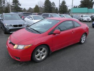 Used 2006 Honda Civic 2 portes LX, boîte automatique for sale in Victoriaville, QC