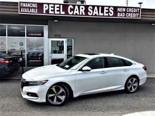 Used 2018 Honda Accord Touring|LEATHERSEATS|SUNROOF|ALLOYS for sale in Mississauga, ON