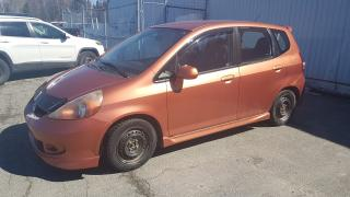 Used 2007 Honda Fit Sport for sale in Val-D'or, QC