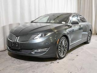 Used 2015 Lincoln MKZ HYBRID FWD | HEATED FRONT SEATS | HEATED STEERING WHEEL | HEATED REAR SEATS | TECHNOLOGY PACKAGE | PANORAMIC ROOF | REMOTE START for sale in Red Deer, AB