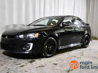 Used 2017 Mitsubishi Lancer ES | MOONROOF | HEATED FRONT SEATS | BACKUP CAMERA for sale in Red Deer, AB