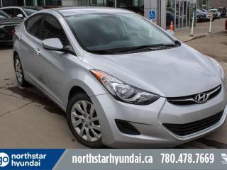 Used 2013 Hyundai Elantra GL AUTO/HEATEDSEATS/BLUETOOTH/AIR/TILT/CRUISE for sale in Edmonton, AB