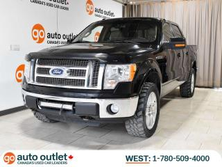 Used 2010 Ford F-150 Lariat 4x4 SuperCrew 5.5' Box, Nav, Sunroof, Heated & Cooled seats for sale in Edmonton, AB