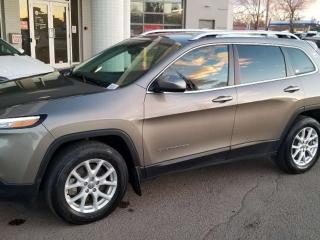 Used 2016 Jeep Cherokee NORTH; BLUETOOTH, BACKUP CAM, HEATED SEATS, HEATED WHEEL AND MORE for sale in Edmonton, AB
