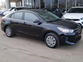 New 2019 Kia Rio LX+ AT; BACKUP CAM, KEYLESS ENTRY, HEATED SEATS/STEERING WHEEL AND MORE! for sale in Edmonton, AB
