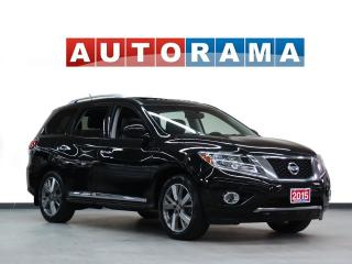 Used 2015 Nissan Pathfinder SL NAVIGATION LEATHER SUNROOF 4WD 7 PASSENGER for sale in Toronto, ON