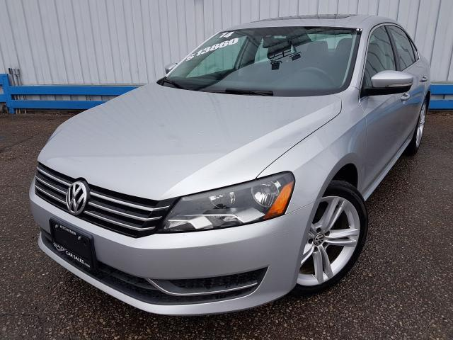 2014 Volkswagen Passat Comfortline *LEATHER-SUNROOF*
