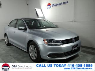 Used 2011 Volkswagen Jetta Highline TDI Sunroof Leather Alloys Heat Certified for sale in Toronto, ON